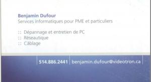 Benjamin dufour
